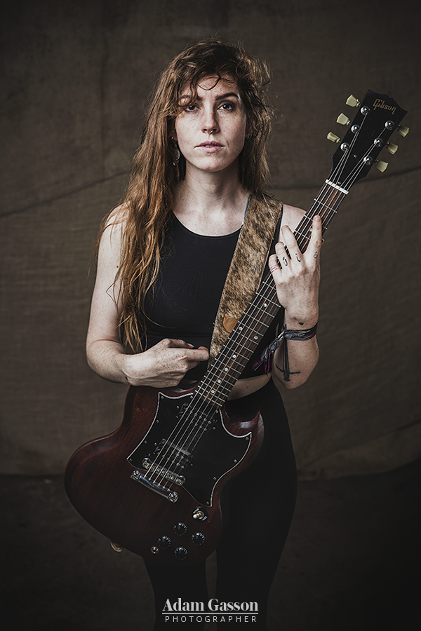 Emma Ruth Rundle from Marriages at Arctangent festival. 21-22 August 2015.